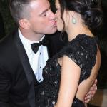 Jenna Dewan-Tatum and Channing Tatum at the Vanity Fair Oscars Party