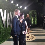 Jenna Dewan-Tatum and Channing Tatum at the Vanity Fair Oscars Party