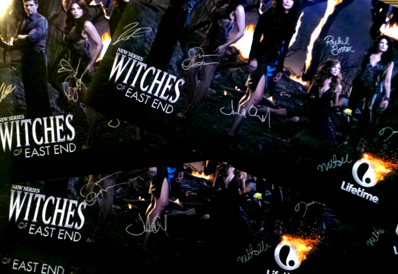 Jenna Dewan-Tatum - Signed Witches of East End Posters - Julia Ormond Mädchen Amick Rachel Boston Daniel DiTomasso Eric Winter