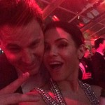Channing Tatum and Jenna Dewan Tatum Vanity Fair Oscars Party 2014