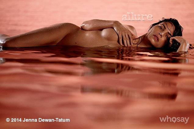 Jenna Dewan Tatum Allure Nude
